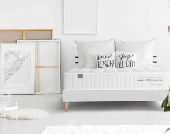 Foto portada mejores colchones, habitacion blanca con colchon wilson