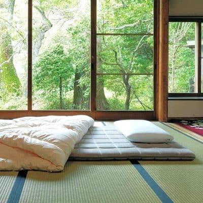 futon japones en el tatami
