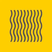 colchon espuma logotipo amarillo