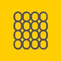 colchon viscoelastico logotipo amarillo