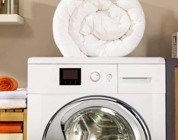 como lavar tu edredon de plumas o fibras sinteticas