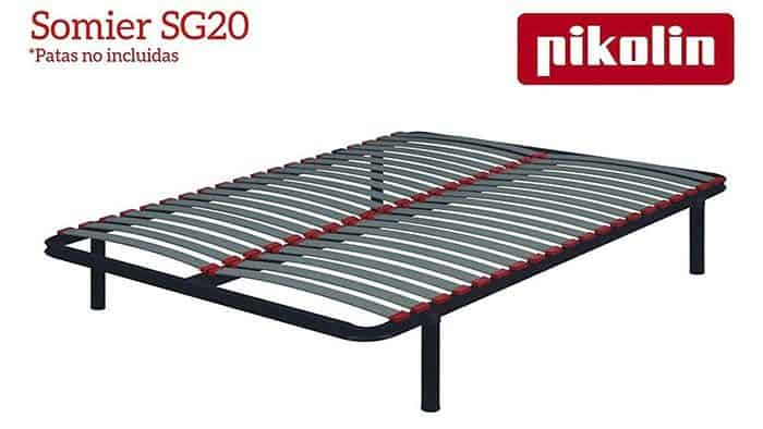 Somier SG20 20 Láminas de madera que absorben la presión ejercida