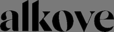 logo transparente alkove para sus colchones