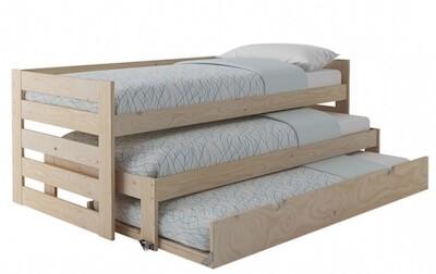 cama nido para tres personas muy ideal para espacion pequeños