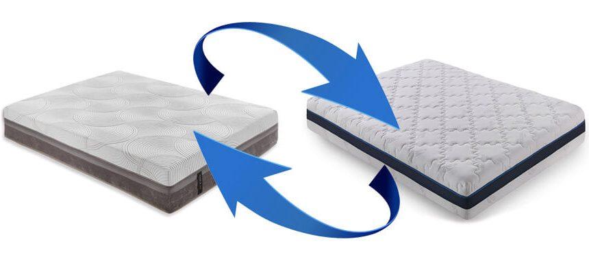 Cambio de colchón por otro
