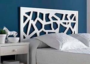 Moderno cabecero de cama realizado en acero estilo forja