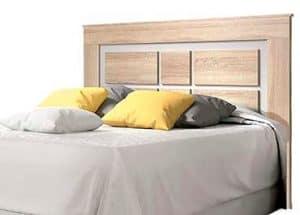 cabecero de madera moderno para cama de matrimonio