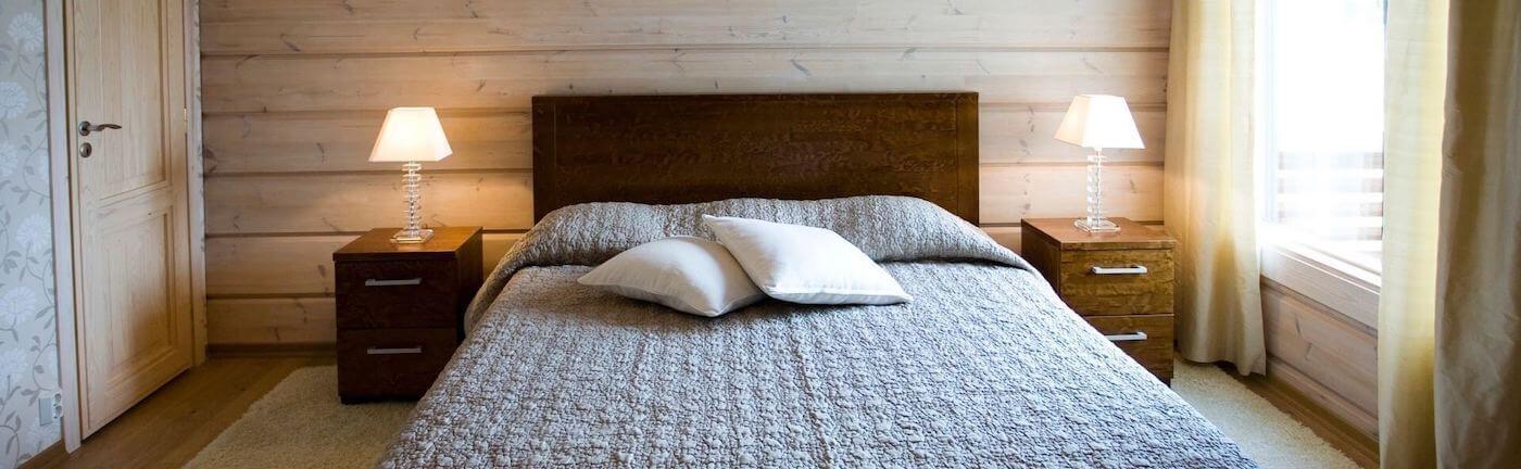 dormitorio con colchon hypnia de muelles