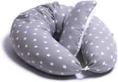 detalle del la almohada embarazada y cojin de lactancia modelo alpha + plus