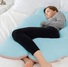 todas las posturas para dormir durante el embarazo