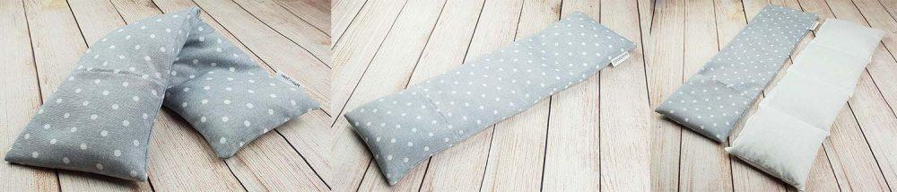 almohada terapeutica Saco térmico cervical de semillas de trigo