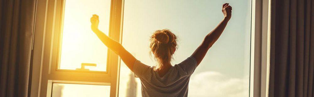 un buen descanso ayuda a levantarse mejor