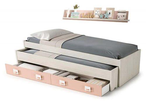 cama nido con cajones incluidos