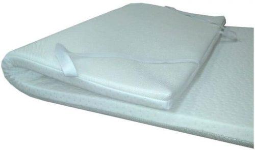 Topper de la marca Dulces Sueños con una media de 190x90 de color blanco