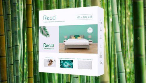 protector recci impermeable colchón