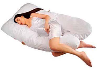 Sanggol® Almohada de Embarazo Maternidad en Forma de U, Almohada de Lactancia, Almohada de cuña