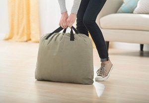 bolsa de transporte de colchón hinchable